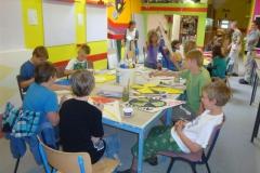 Werkprojekt der 5. und 6. Jahrgangstufe in Kooperation mit Gewerbe der OKS, Mai 2011