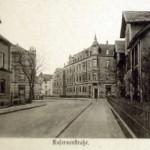 Die Kasernenstrasse in den 30er Jahren