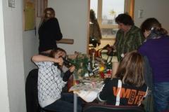 Weihnachtsbasteln 2008
